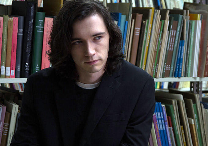 "Liam Aiken en ""Ned Rifle"" (2014), de Hal Hartley"