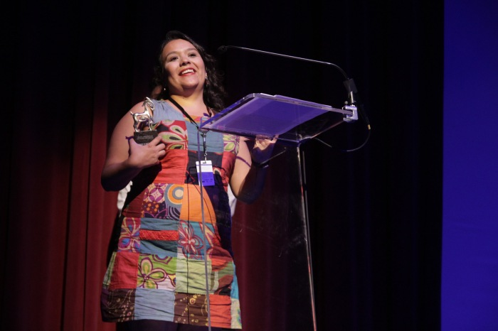 Alicia Calderón, directora de Retratos de una Búsqueda