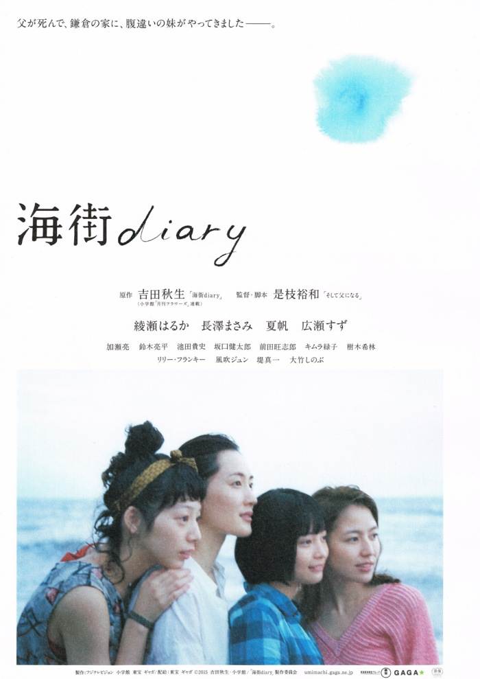 Umimachi Diary poster